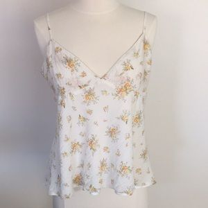 Polo Jeans Company floral camisole tip, sz L.